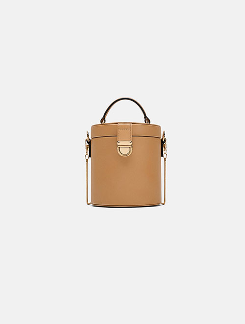 Combined Leather Bag